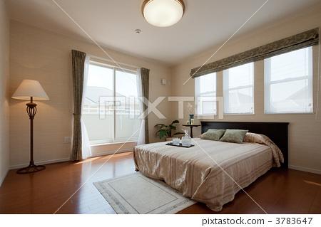 卧室 酒店房间 床