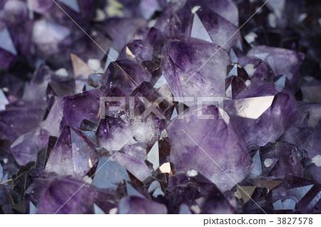 宝石 紫水晶 原矿石-图片素材 [3827578] - pixta