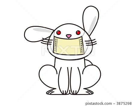 兔子手绘插图一系列
