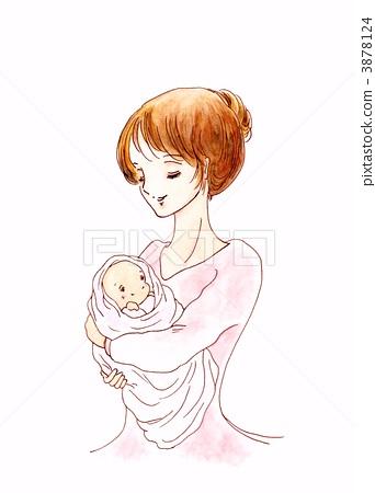 父母和小孩 动物宝宝