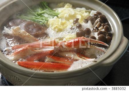 图库照片: 螃蟹火锅 生海鲜 和谐