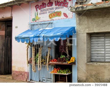 古巴 风景 街道