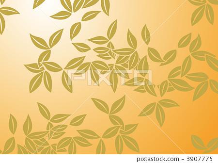插图: 红叶 银杏叶 树叶
