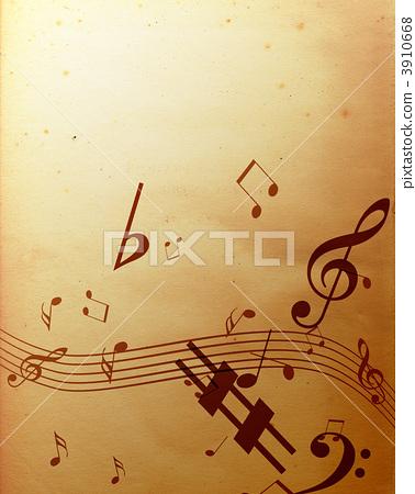 笔记 音符 高音谱号