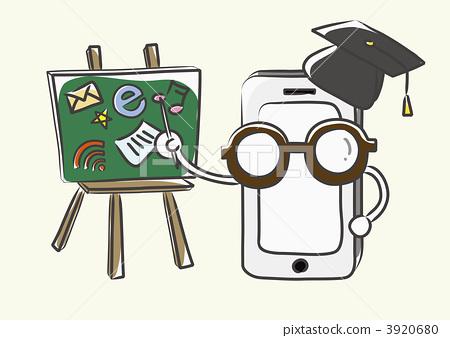 插图素材: 智能手机 智慧手机 智慧型手机