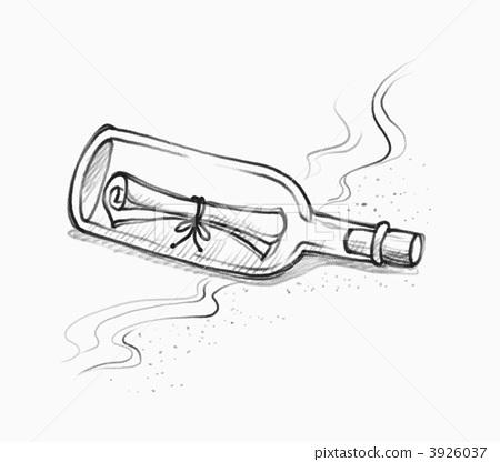 热水壶手绘图片