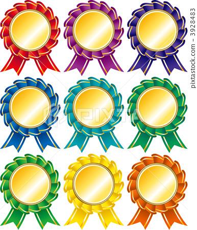图库插图: 奖章 订单 徽章
