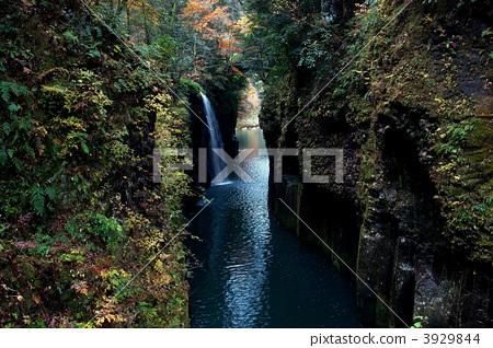图库照片: 高千穗峡 宫崎 风景