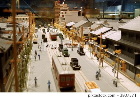 模型 透视画 街道-图片素材 [3937371] - pixta