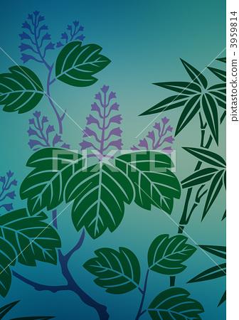 竹叶手工制作书签图片