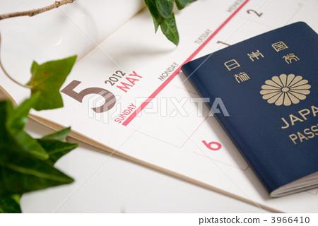 五月 护照 日历
