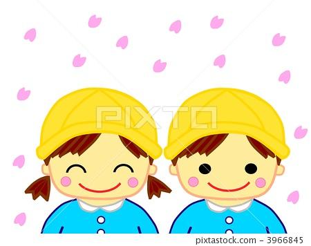 图库插图: 微笑 笑脸 幼儿