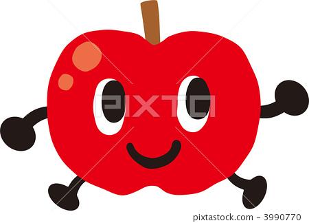 苹果树上 绘画插图