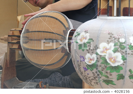 照明_灯 纸灯笼 灯笼 纸灯笼 照明设备  *pixta限定素材仅在pixta网站