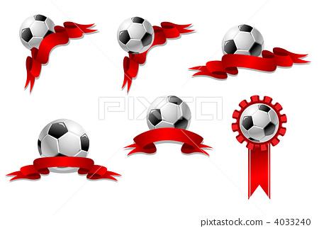 矢量图 英式足球 球