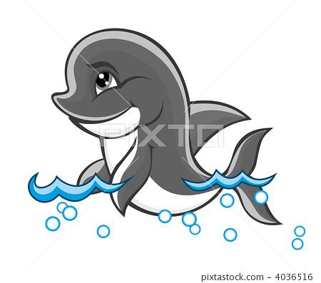 矢量图 矢量 海豚
