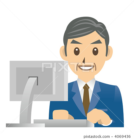 商务人士 生意人 个人电脑
