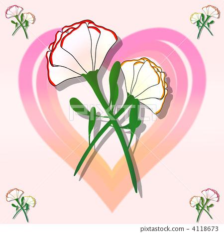 微信头像康乃馨一枝花的图片