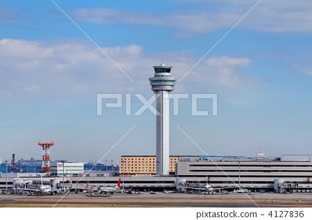 控制台 景色 东京国际机场-图库照片 [4127836]