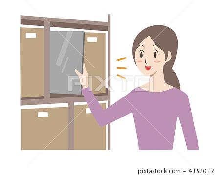 清醒 首页 插图 人物 女性 主妇 主妇 家庭主妇 清醒  *pixta限定素材