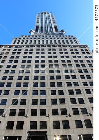 图库照片: 摩天大楼 克莱斯勒大厦 高层