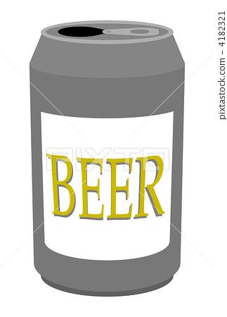 一听啤酒热量_图库插图: 啤酒 一听啤酒 淡啤酒