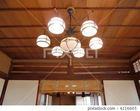 日式灯具设计手绘图
