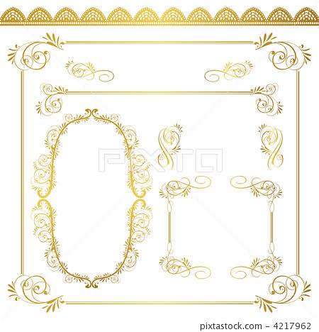 装饰性边框手绘