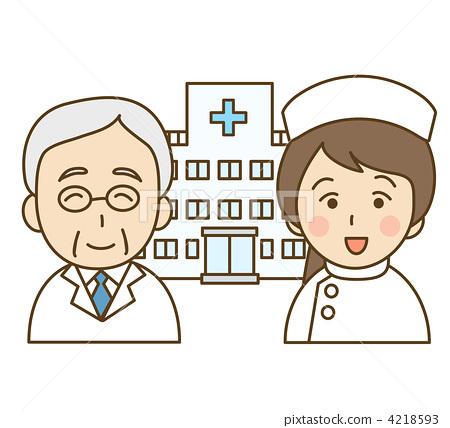 护士公告栏边框手绘