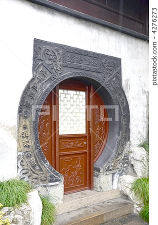 室内装饰_家具 门 古代建筑 中国式建筑 门  *pixta限定素材仅在pixta