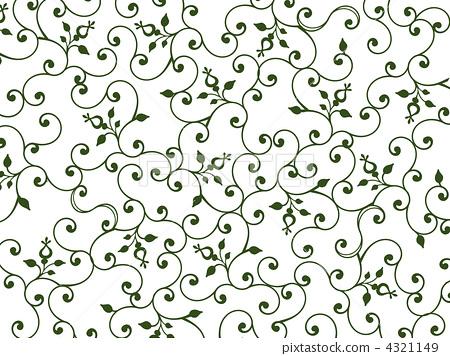 藤蔓花边素材_藤蔓花边藤蔓花边素材矢量图 花的藤蔓花边素材图片