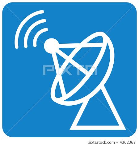 无线电塔 天线杆 天线