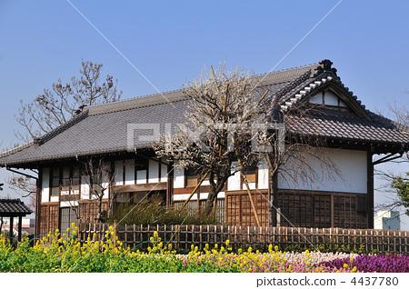 民居 日式房屋 木制