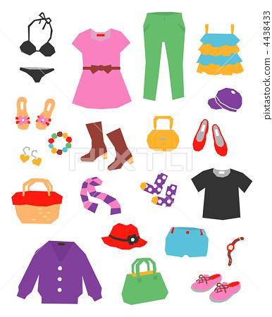 矢量图 衣服 衣物