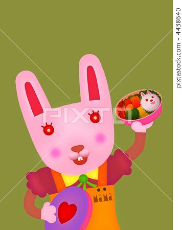 兔子 插图 兔妈妈 首页 插图 动物_鸟儿 兔子 兔妈妈  *pixta限定素材