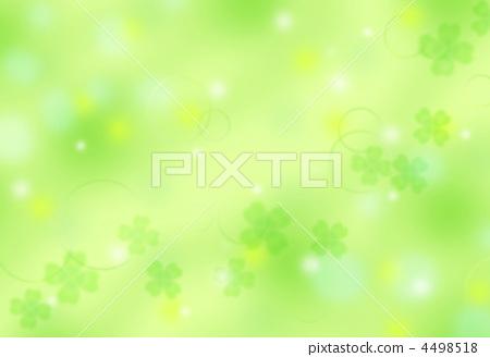 插图 文字_记号 记号_记号 三叶草 三叶草图案背景  *pixta限定素材仅