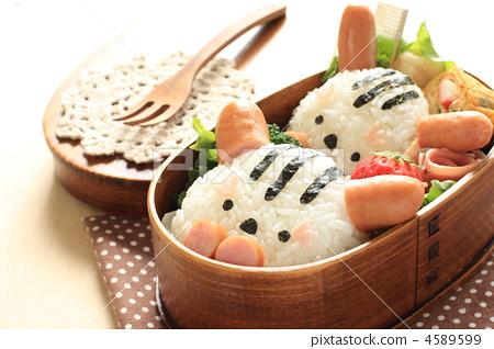 可爱 食物 /strong> 动物