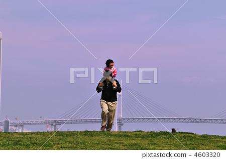 图库照片: 小孩 女儿 父亲