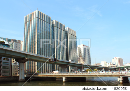 阪神高速道路 堂岛川 桥梁