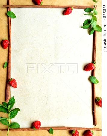 边框食物简笔画