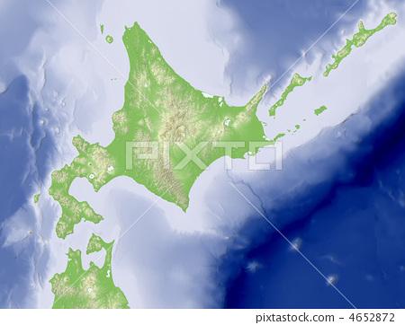北海道 地图 地图学