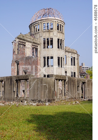 原爆圆顶塔 广岛和平纪念公园 世界遗产
