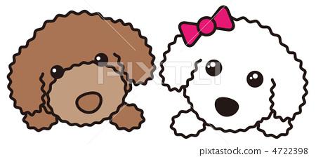 图库插图: 矢量 玩具狗 狗