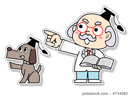 插图素材: 学者 指示 医生