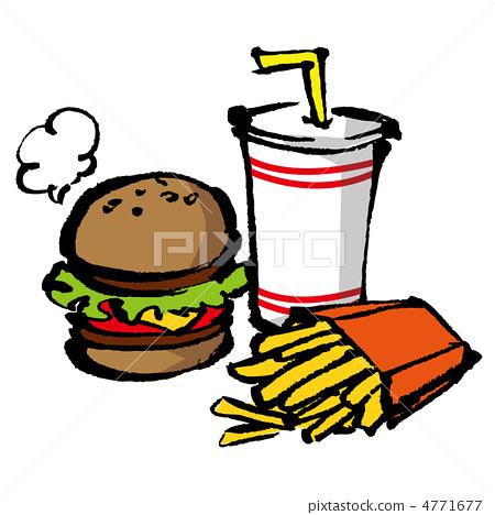 垃圾食物 垃圾食品 速食