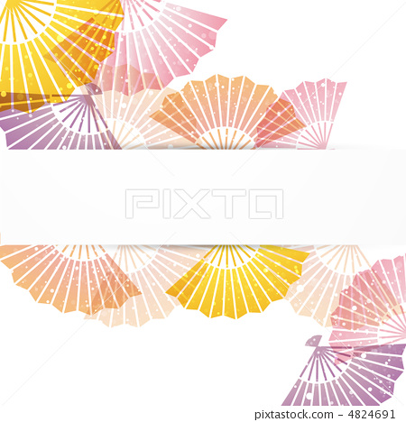 图库插图: 折扇 矢量图 日本扇子