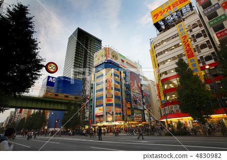 日本风景 东京 秋叶原 照片 城市 秋叶原 步行街 首页 照片 日本风景