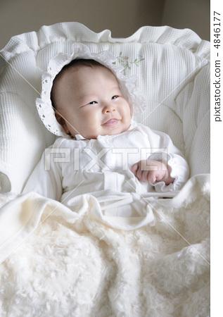 微笑 动物宝宝 婴儿