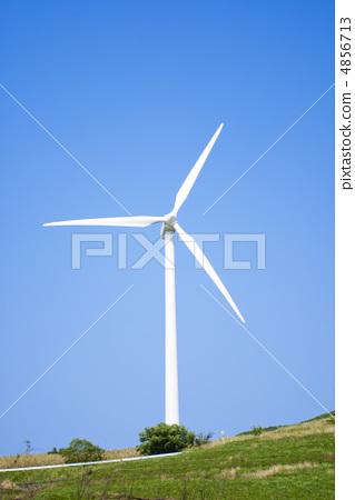 图库照片: 螺旋桨 风能 风车