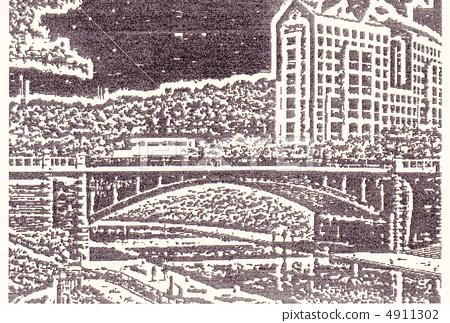 插图 木刻版画  pixta限定素材      木刻版画[4911302] 图库插图包含